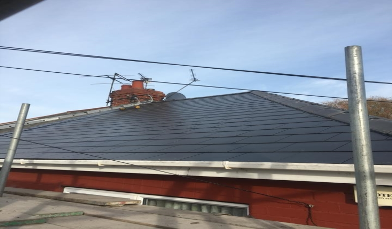 New Roof With Cembrit Slates